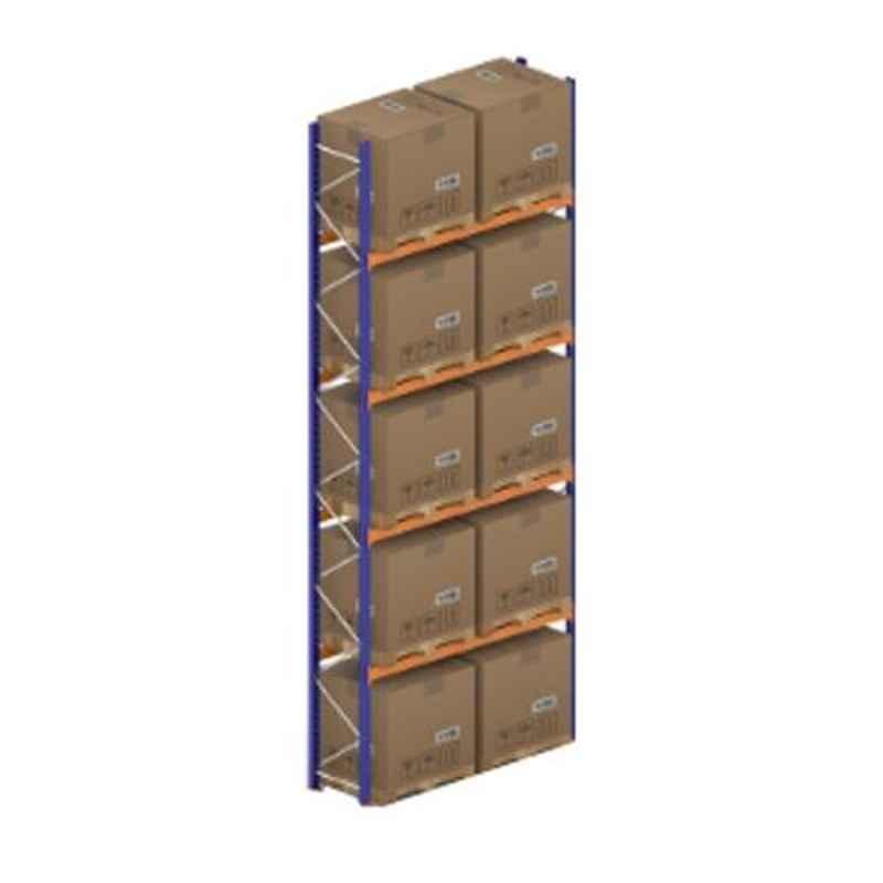 Godrej Ground Plus 4 Layers Steel Selective Pallet Racking, Max Load Capacity: 8000kg, Main Unit: 7000x2700x1000mm (HxWxD)