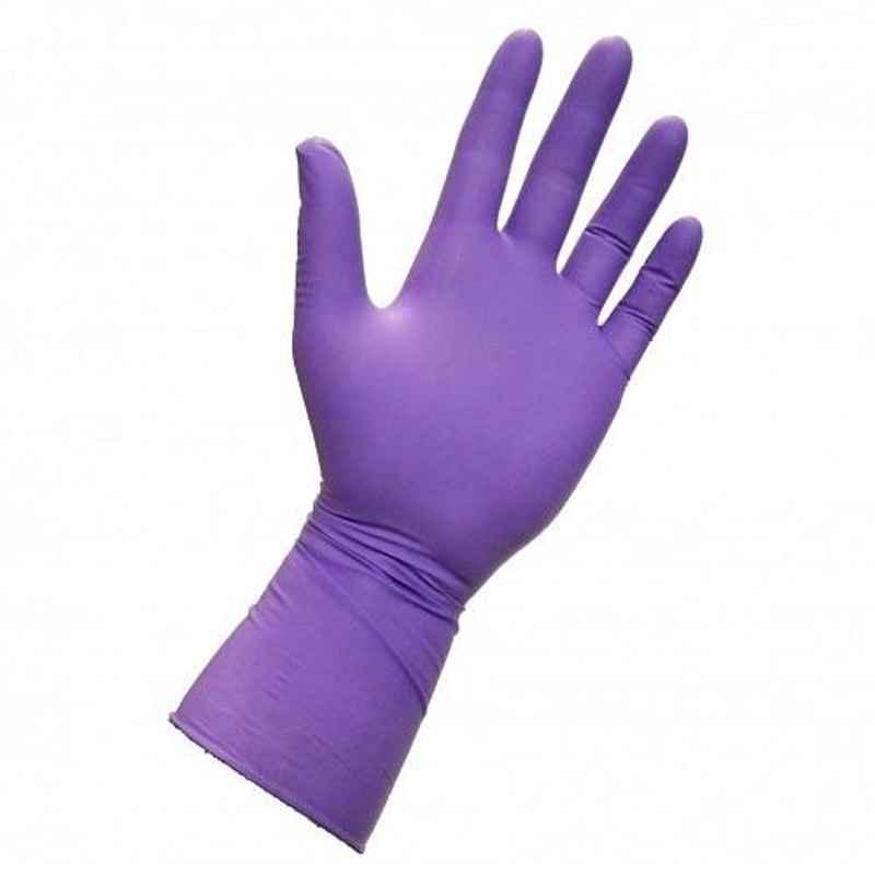 Kimtech Xtra 50 Pcs 30cm Ambidextrous Medium Purple Nitrile Glove Box, 97612 (Pack Of 10)