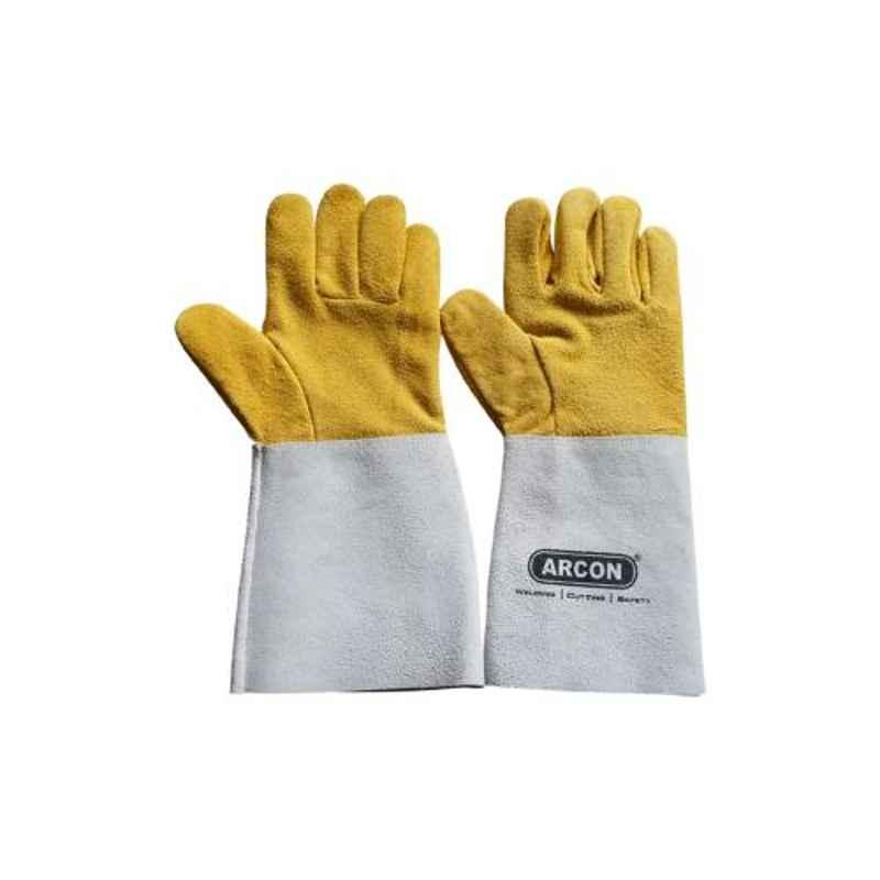Arcon 14 inch Leather Universal Thumb Gloves