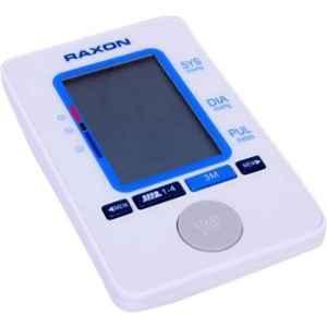 Raxon BP-02 White Automatic Upper Arm Digital Blood Pressure Monitor
