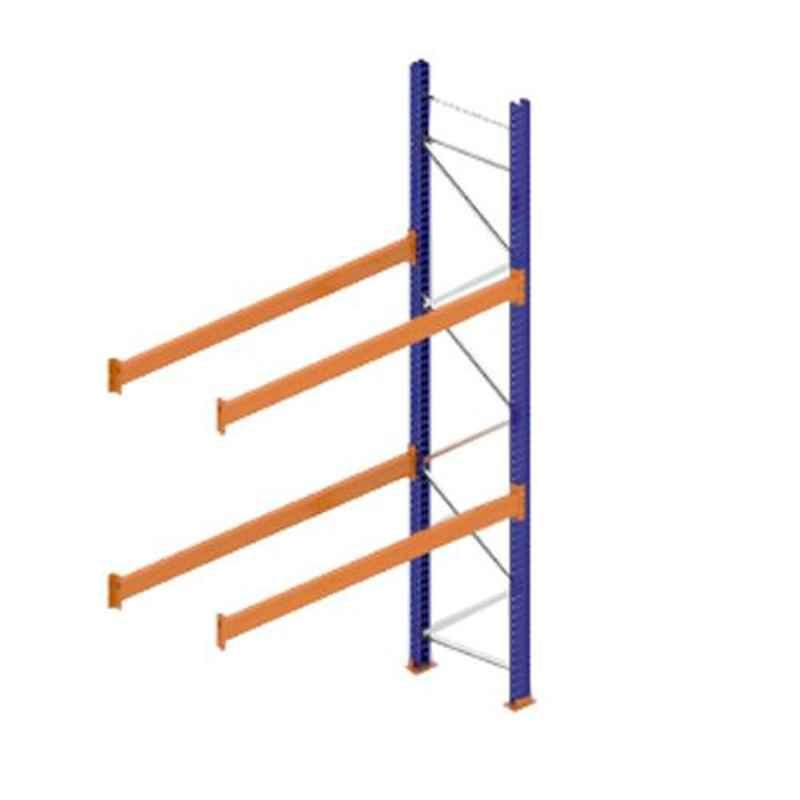 Godrej Ground Plus 2 Layers Steel Selective Pallet Racking, Max Load Capacity: 4000kg, Add on Unit: 3500x2700x800mm (HxWxD)