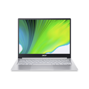Acer Swift 3 SF313-53 11th Gen Core i5 8GB RAM 512GB SSD/Windows 10 & 13.5 inch Display Sparkly Silver Laptop, NX.A4KSI.001
