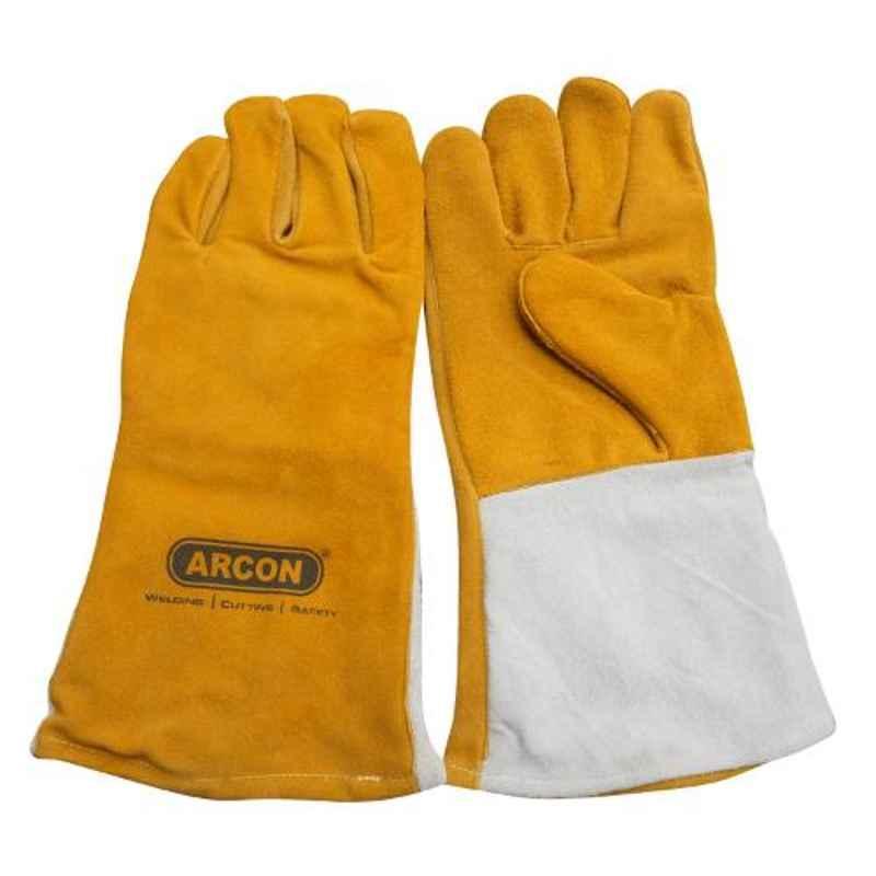 Arcon 14 inch Split Leather Hand Gloves