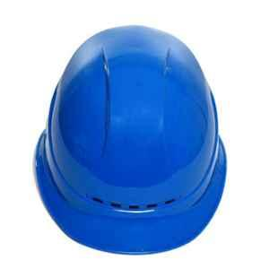 Darit Blue ABS Ratchet Textile Safety Helmet with Foam Sweatband, ES-235