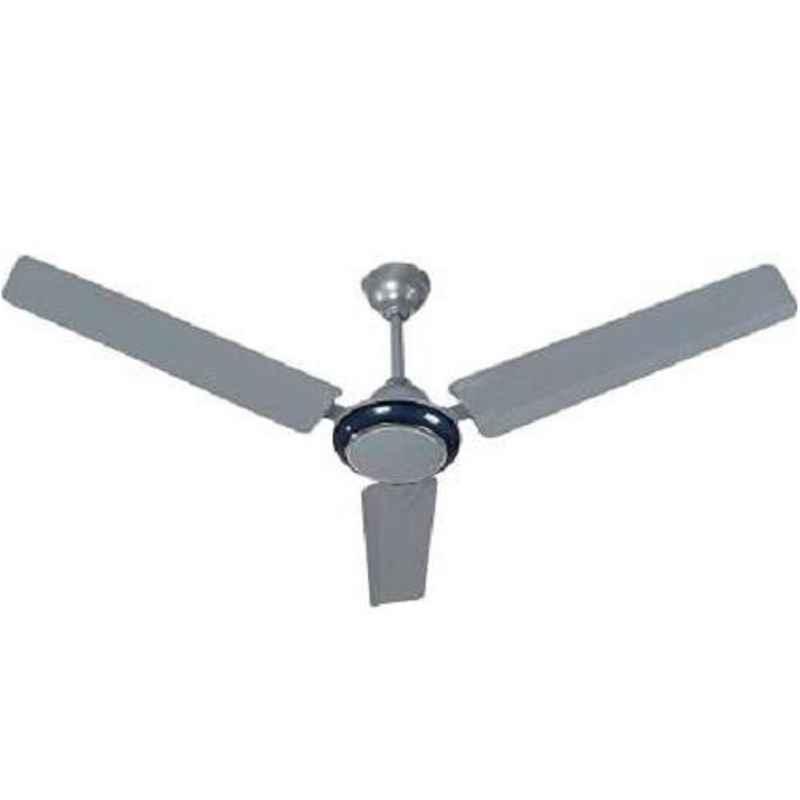 Sameer 50W Silver Blue Fusion Ceiling Fan, Sweep 1200 mm