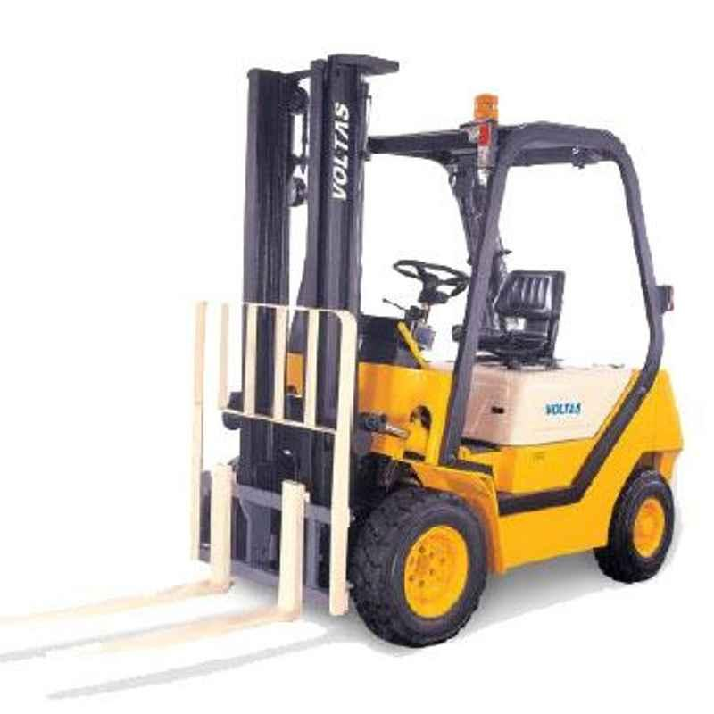Voltas 1500kg 3 Stage Diesel Powered Forklift, DVX 15 FC BC HVT 2125