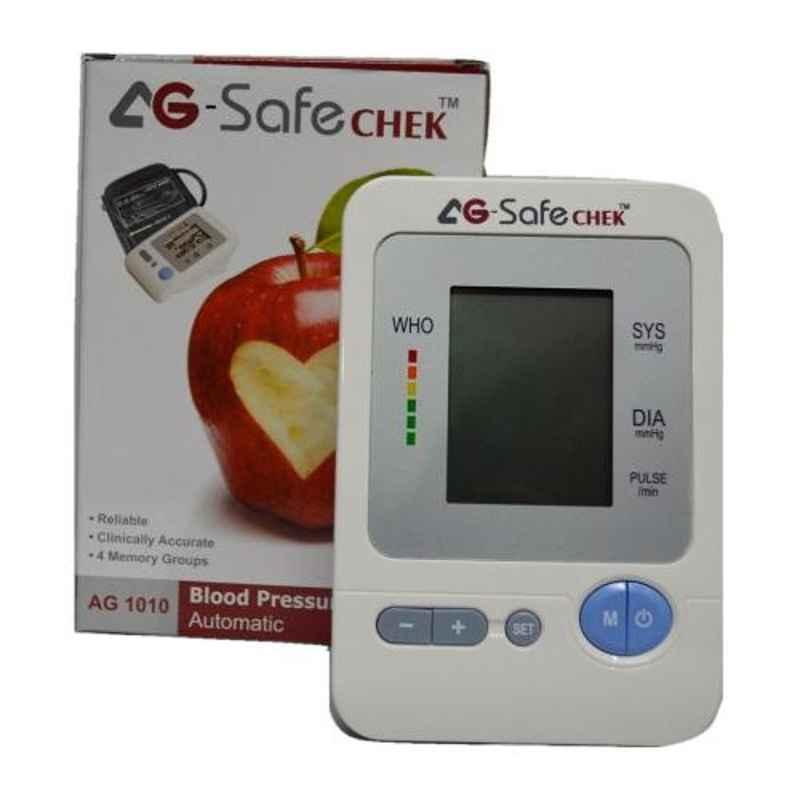 AG Safechek AG1010 Blood Pressure Monitor