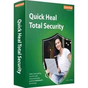 Quick Heal Total Security Latest Version Antivirus for 3 Users & 1 Year