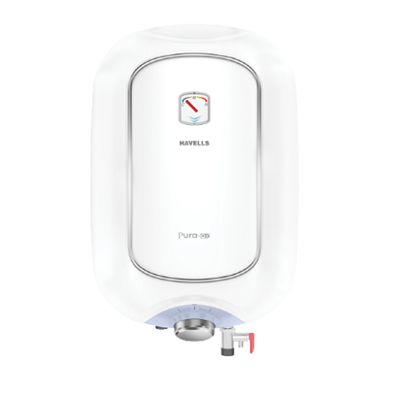 Havells Puro DX 15L 2000W White & Blue Storage Water Heater, GHWAPDTWB015
