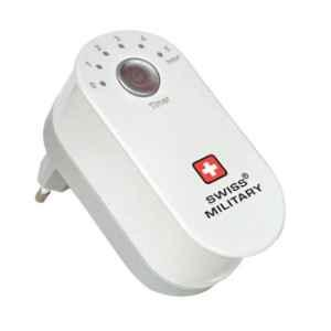 Swiss Military White 2 USB Port Time Charger, UAM12