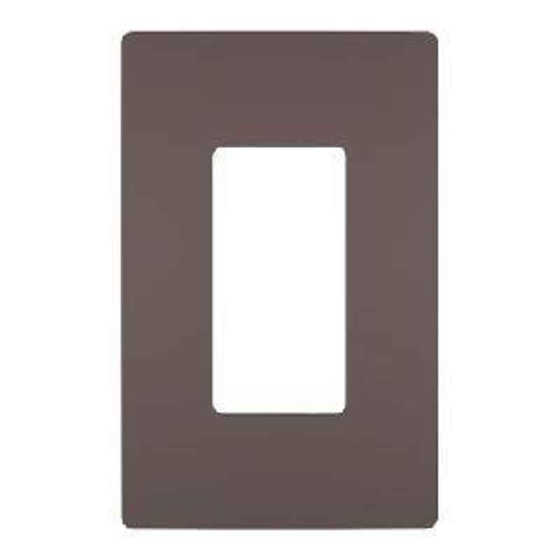 Legrand Mylinc 1 Module Cover Plate Dark Bronze - 6763 90