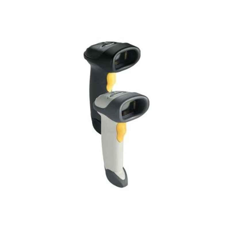 Zebra LS2208 1D White & Black Cordless Handheld Barcode Scanner Without Stand