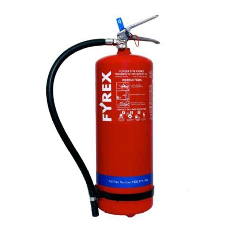 Fyrex Stored Pressure MAP 90 9kg ABC Fire Extinguisher, F0008