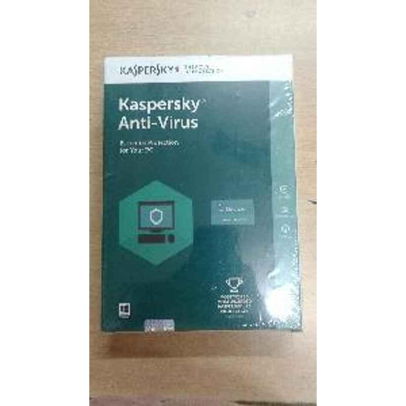 Kaspersky Antivirus 1user 1year Box Software