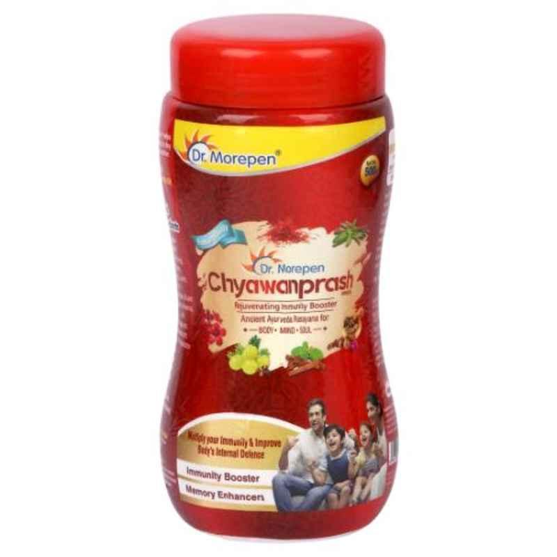 Dr. Morepen 500g Chyawanprash Ayurvedic Immunity Booster