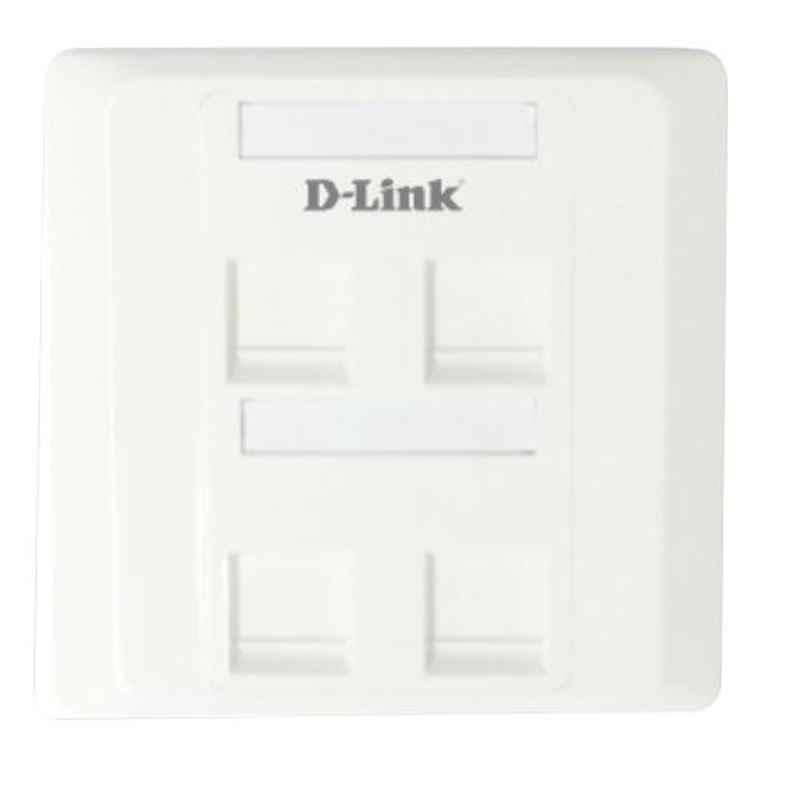D-Link Qurd Phase Plate, NFP-0WHI42 Scqure (Pack of 10)