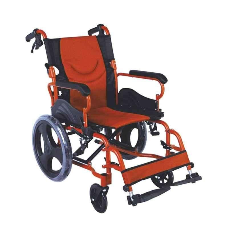 Easycare Portable Aluminium Wheelchair, Weighing Capacity: 100 kg, EC863LABJ16