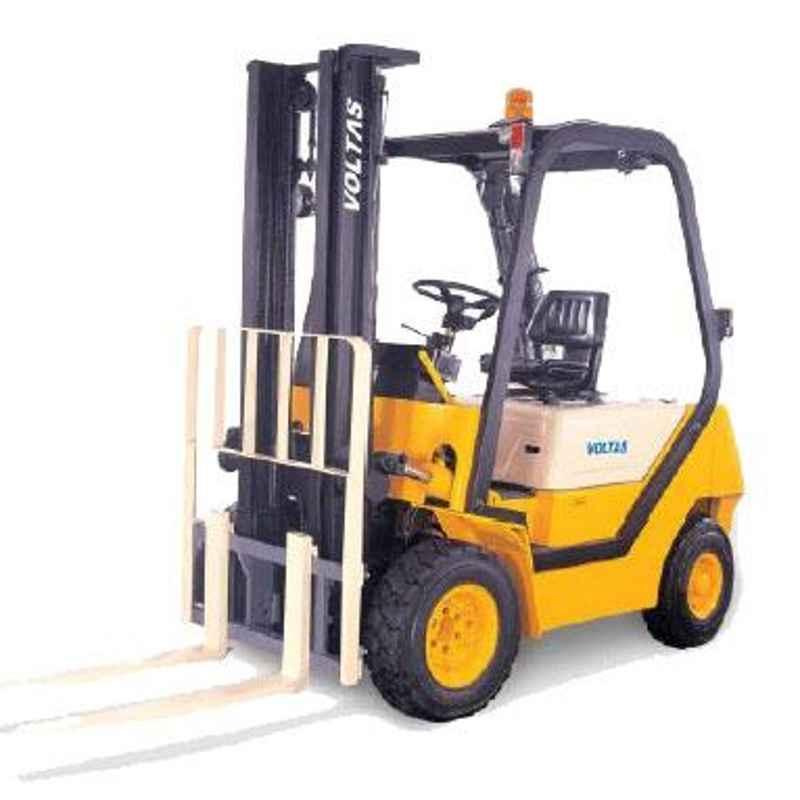 Voltas 2500kg 2 Stage Diesel Powered Forklift, DVX 25 FC BC HVM