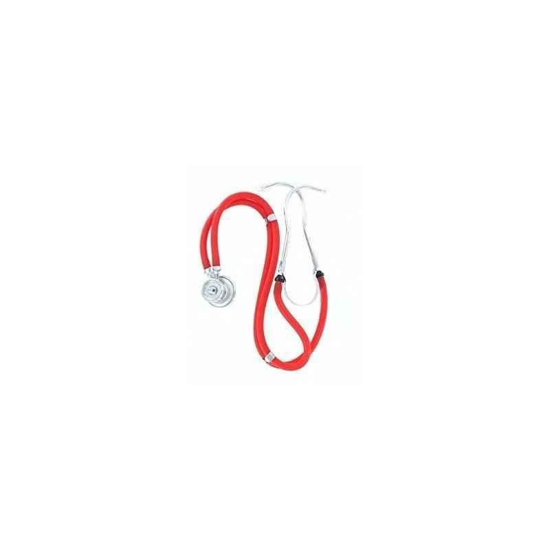 Shakuntla Pluss Rappaport Red Dual Head Stethoscope Convertible Chest-Piece