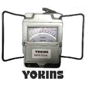 Yokins YOK-ET3-2Ω-2000Ω Metal Body Earth Tester