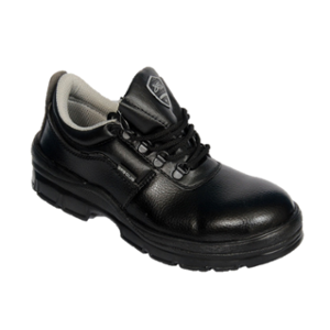 Liberty Glider Steel Toe Black Safety Shoes, Size: 8