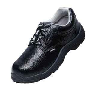 Liberty Freedom Vijyata-1A Steel Toe Synthetic Leather Safety Shoes, Size: 9