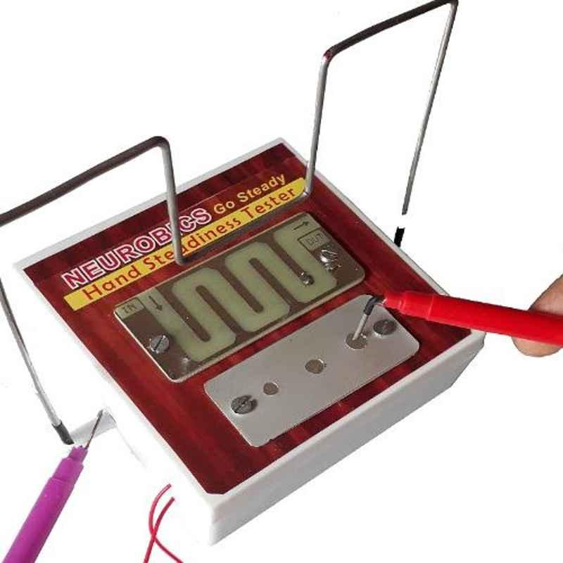 Atharva Concepts Neurobics Go Steady 3 In 1 Hand Steadiness Tester