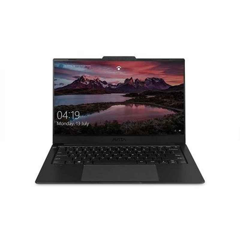AVITA LIBER V 10th Gen Intel Core i5 10210U 8GB DDR4 RAM 512GB SSD/Windows 10 Home & 14 inch Display Matt Black Laptop with 2 Years Warranty, NS14A8INF561-MB