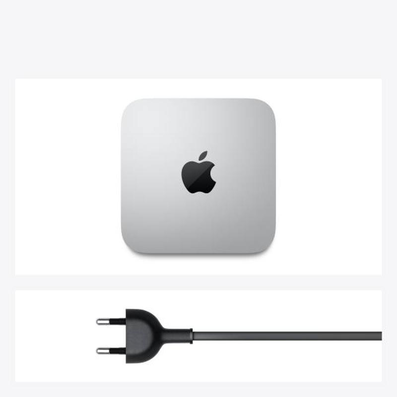 Apple Mac mini: Apple M1 chip with 8 core CPU and 8 core GPU, 512GB SSD-Silver, MGNT3HN/A