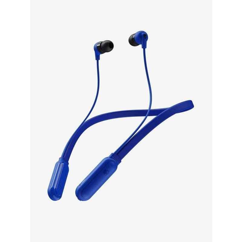 Skullcandy Ink'd Plus Cobalt Blue Bluetooth Headphone with Mic, S2IQW-M686