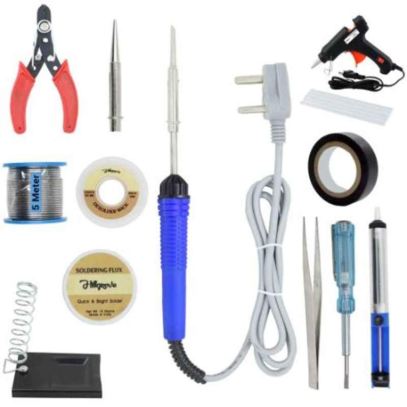 Hillgrove 13 in 1 Mobile Soldering Electronic Iron Kit, HG0065