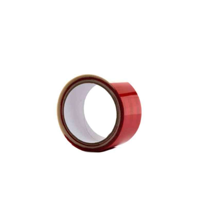 Darit ES-30 5cm White & Red Self Adhesive Waterproof Reflective Tape, Length: 5 m