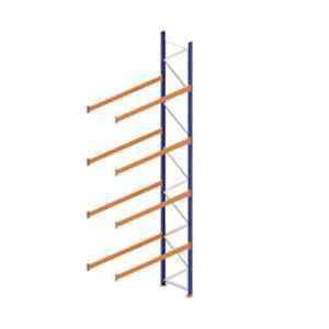 Godrej Ground Plus 4 Layers Steel Selective Pallet Racking, Max Load Capacity: 8000kg, Add on Unit: 7000x2700x800mm (HxWxD)