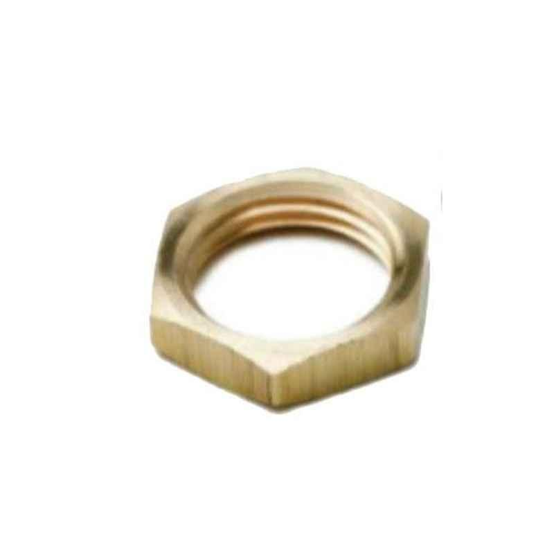 SFI 1 inch Brass Checknut for Pneumatic Pipe Fitting