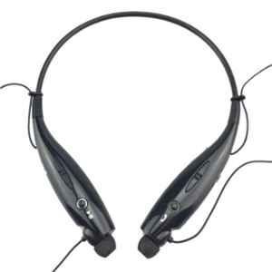 Immutable HBS-7300 Black Bluetooth Neckband In-Ear Earphone with Mic, IMT-51136