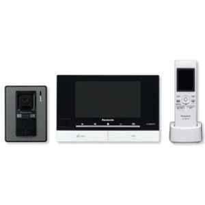 Panasonic 7 inch LCD  Black Wireless Video Intercom System, VL-SW274