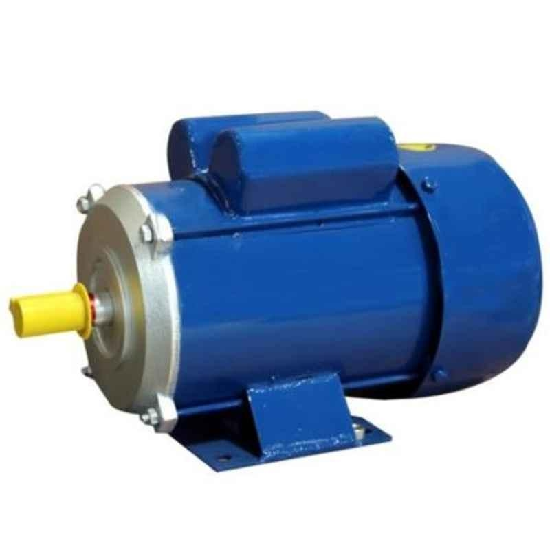Oswal 2HP 1380rpm Single Phase Induction Electric Motor, OM-7-(SM)-CR