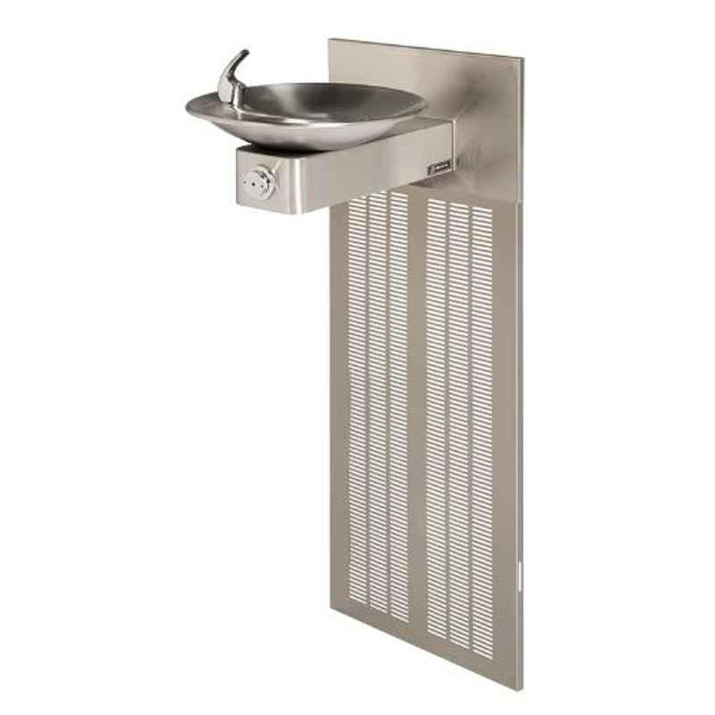 Haws 1001.8 Stainless Steel Barrier Chilled Wall Mount Fountain
