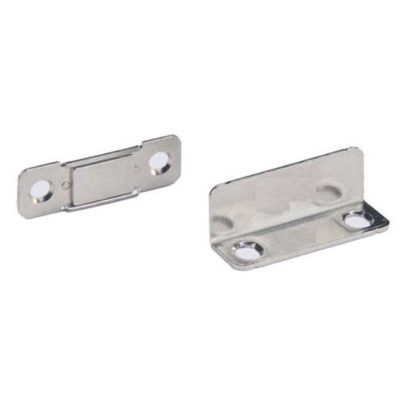 Nixnine 4x1.7x1.5cm Ultra Thin Magnetic Door Stopper, SS_THN_MNT_L_TP_20PS (Pack of 2)
