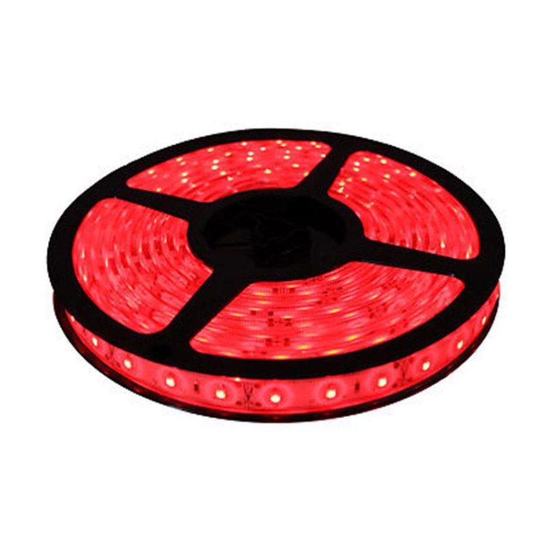 Ever Forever 5m Red Colour Self Adhesive LED Strip Light with Adapter