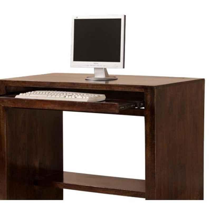 The Attic 80x50x78cm Mango Wood Walnut Ivins Computer Table, KL-1178