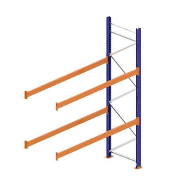 Godrej Ground Plus 2 Layers Steel Selective Pallet Racking, Max Load Capacity: 4000kg, Add on Unit: 3500x2700x1000mm (HxWxD)