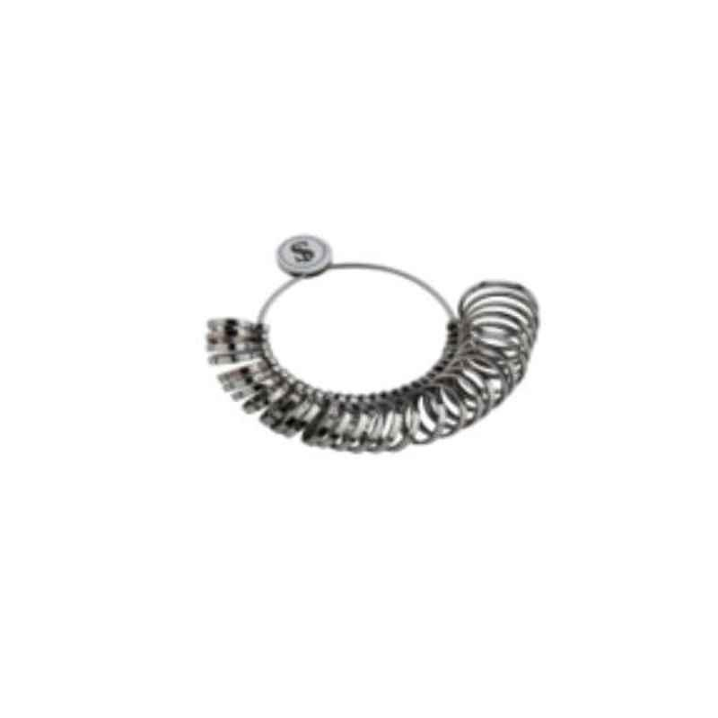 Gold Smith 0-15 Metal Wide Band Finger Ring Sizer, TE-322