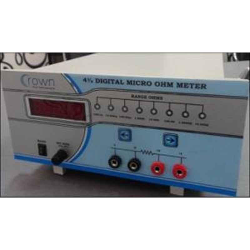 Crown CES 200 Micro Ohm Meter Range 0-1999.9µ to 19.999 K Ohm