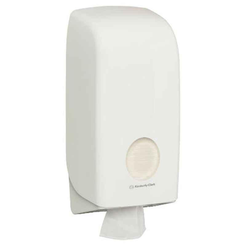 Kimberly-Clark Aquarius Hygenic Wall Mounted Toilet Tissue Paper Dispenser, 69460