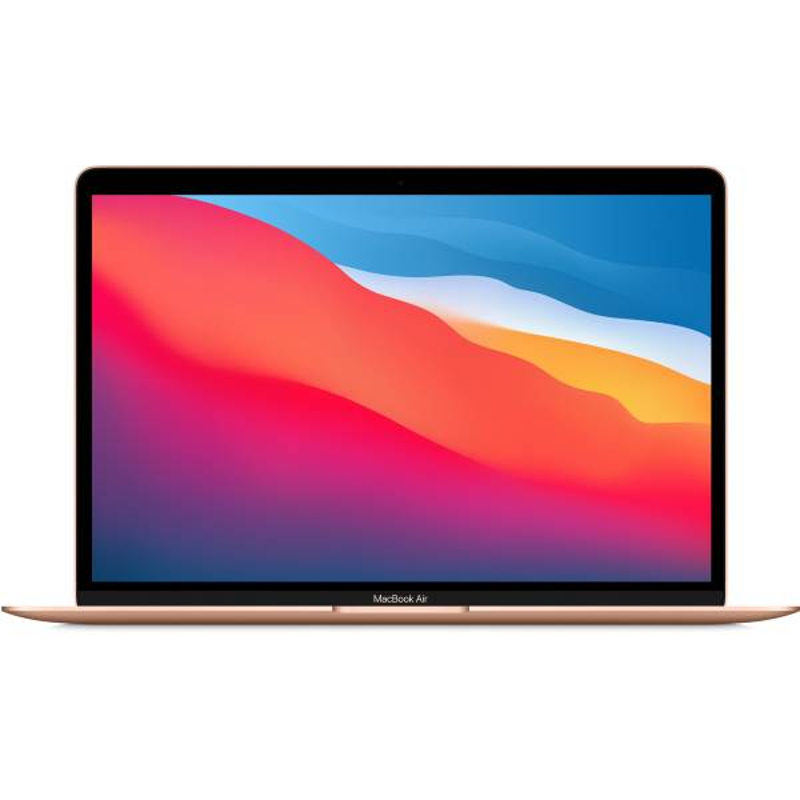Apple 13-inch MacBook Air: Apple M1 chip with 8-core CPU and 7-core GPU, 256GB, 8GB-Gold, MGND3HN/A