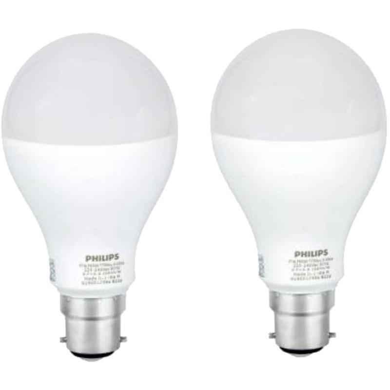 Philips Steller Bright 17W Cool Day Globe B22 LED Bulb, 929001256622 (Pack of 2)