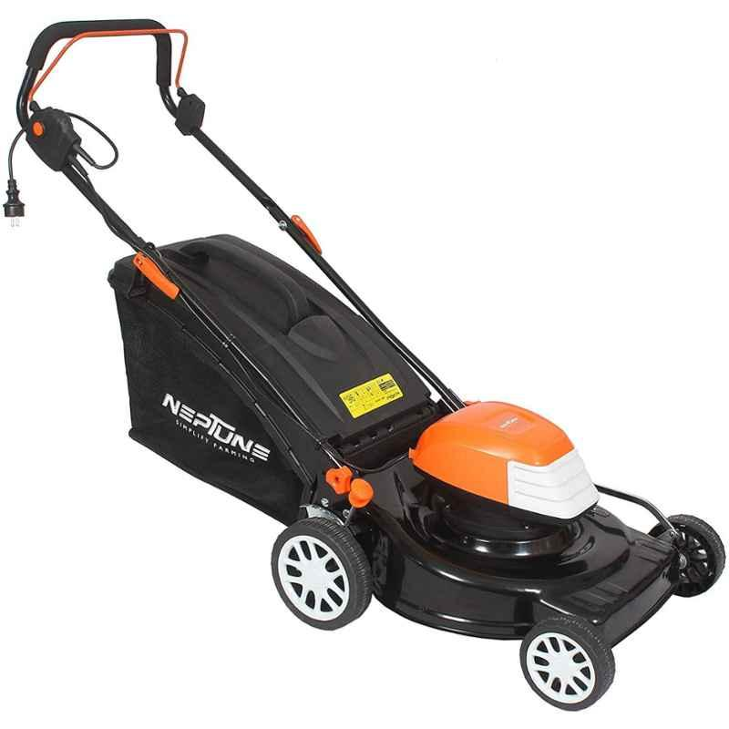 Neptune 1800W Simplify Farming Electric Rotary Lawn Mower for Striped Effect on Medium to Large Sized Lawns