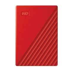 WD My Passport 4TB USB 3.0 Red Portable External Hard Drive with Automatic Backup, WDBPKJ0040BRD-WESN