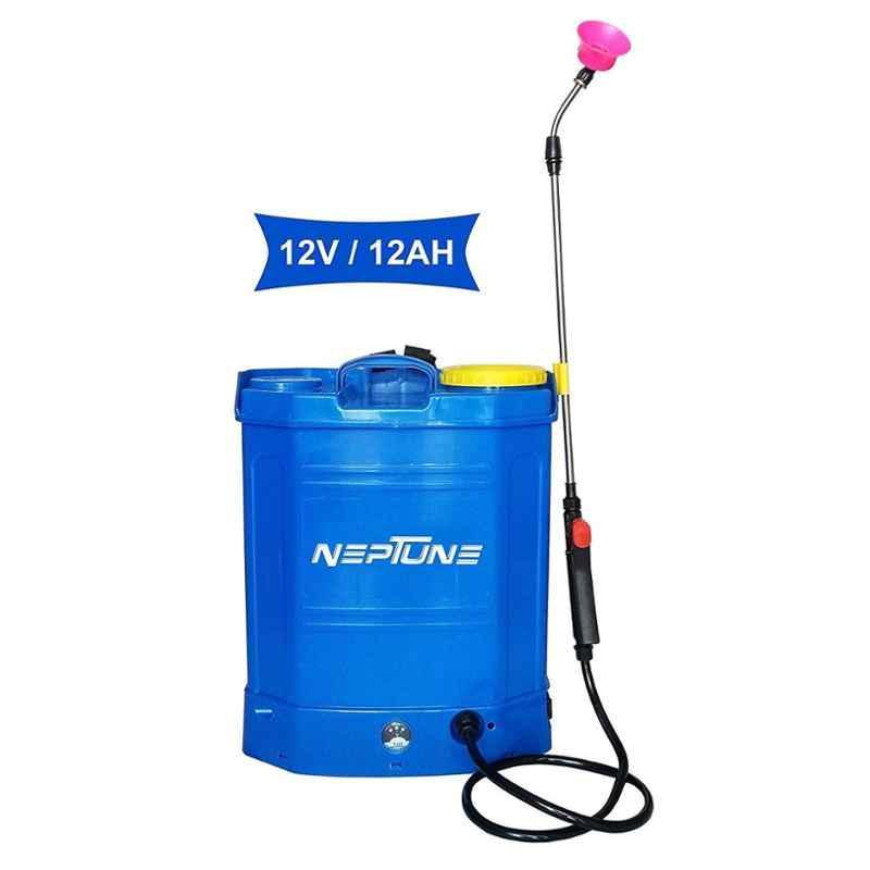 Neptune 16L 12V Blue Knapsack Battery Operated Garden Sprayer, BS-13